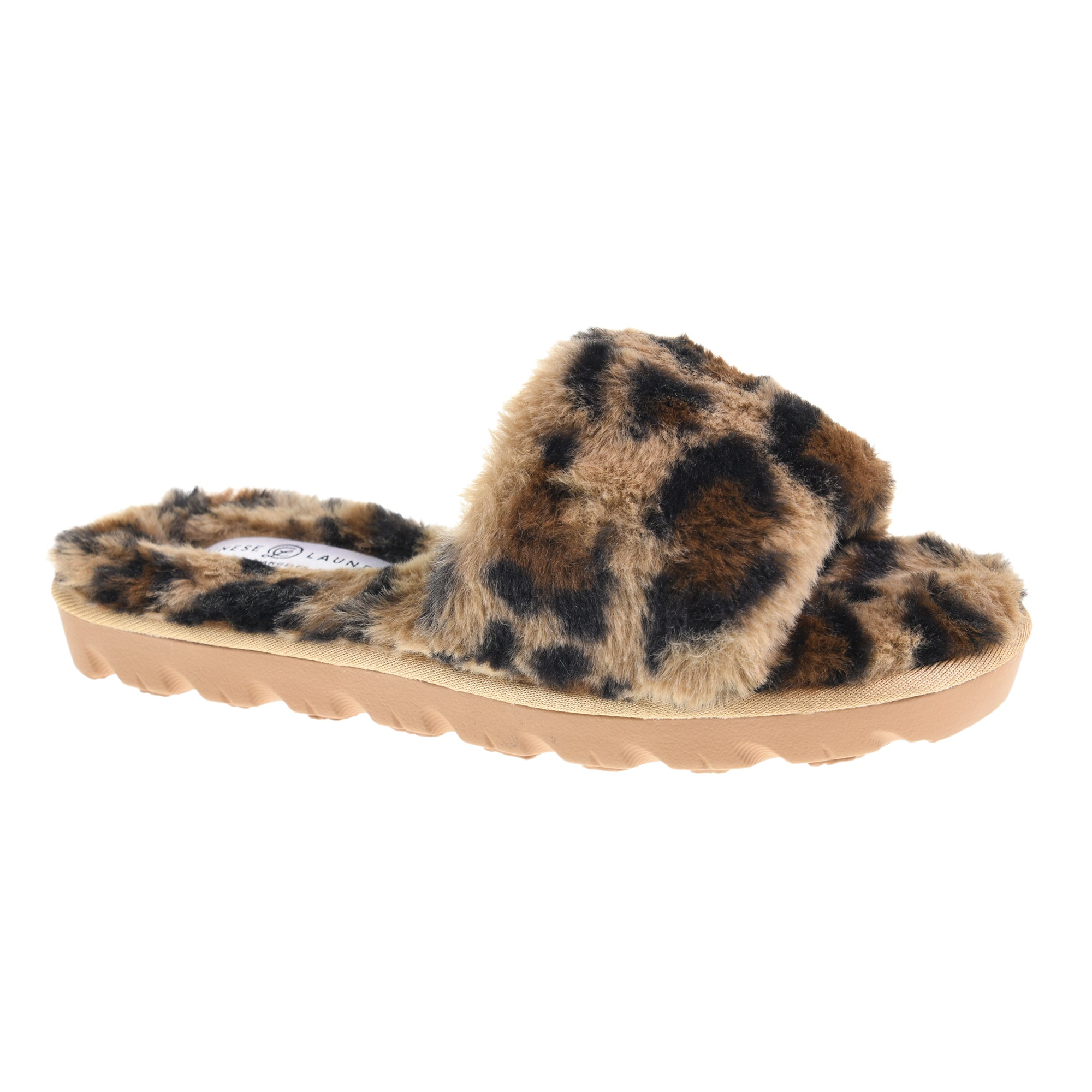 Rally Slippers - Leopard