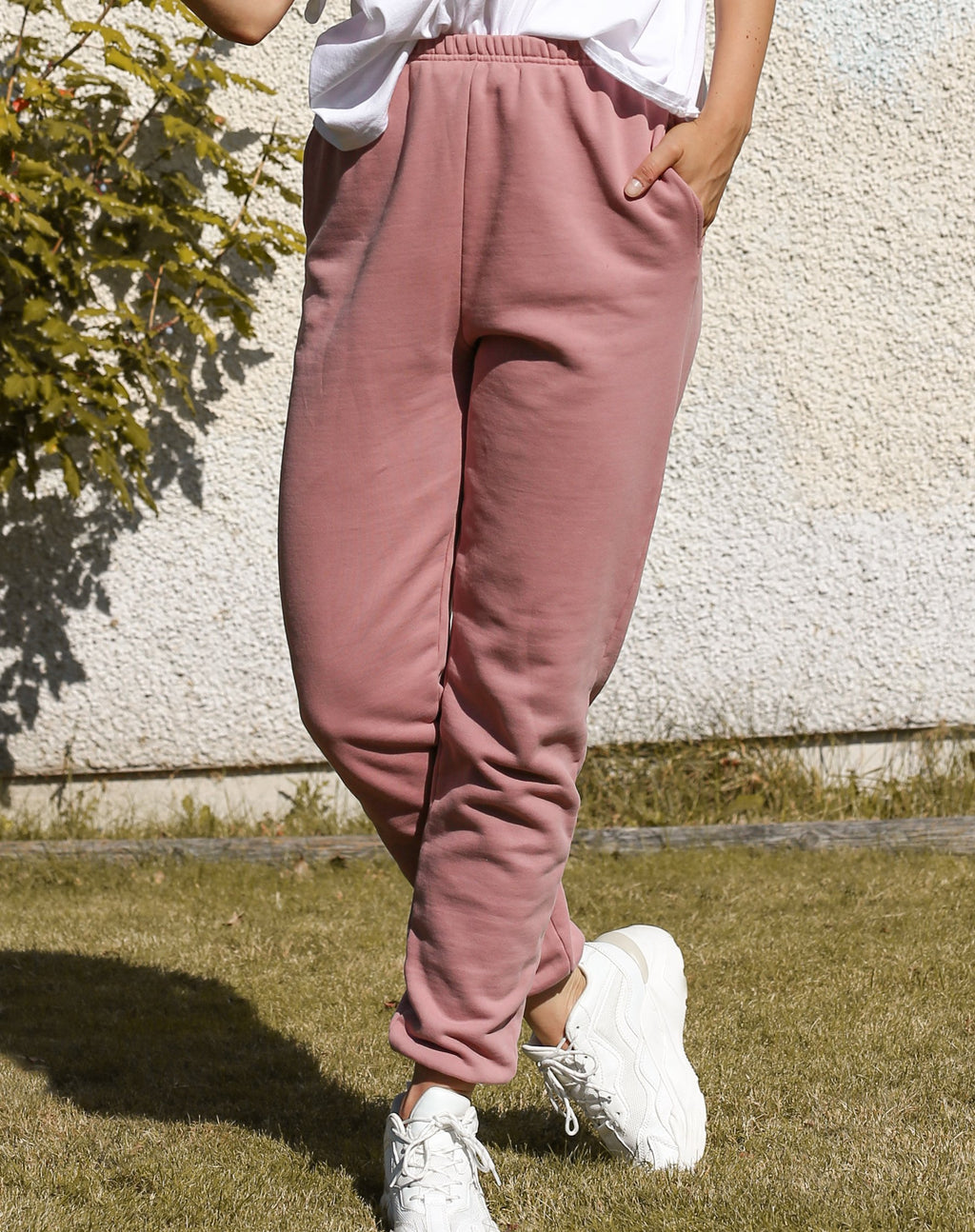 "The ""Best Friend"" Vintage Rose Joggers"
