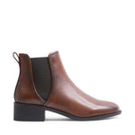 DARES Brown Leather Boots - SALE