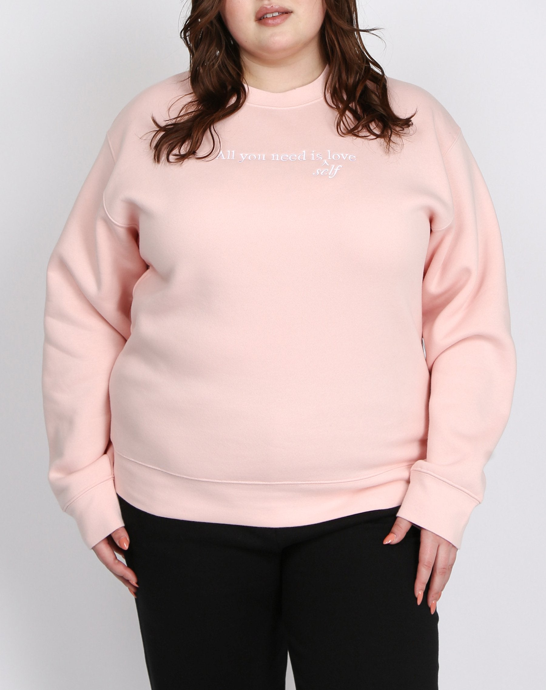 "The ""ALL YOU NEED"" Classic Crew Neck Sweatshirt 