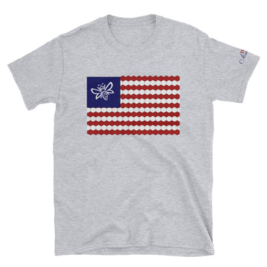 BEE American 100 cotton Short-Sleeve Unisex T-Shirt