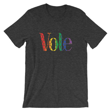 Vote with love  -Sleeve Unisex T-Shirt