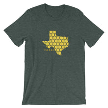 Load image into Gallery viewer, Texas honeycomb Short-Sleeve Unisex T-Shirt