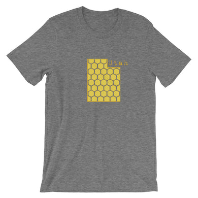 Utah honeycomb Short-Sleeve Unisex T-Shirt