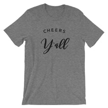 Load image into Gallery viewer, Cheers Y'all Short-Sleeve Unisex T-Shirt