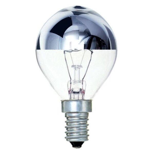 Crown Silver 25w SES / E14 Golf Ball Bulb