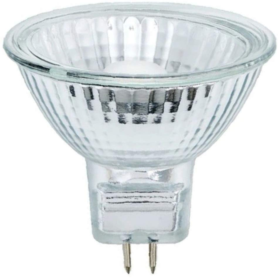 Halogen Spot 35w 12v GU5.3 Casell 50mm MR16 38° Dichroic Reflector Glass Fronted Light Bulb