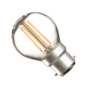 Casell GBL4BC-82DP-CA - Filament LED Golf 240v 4w B22D 828 Dim