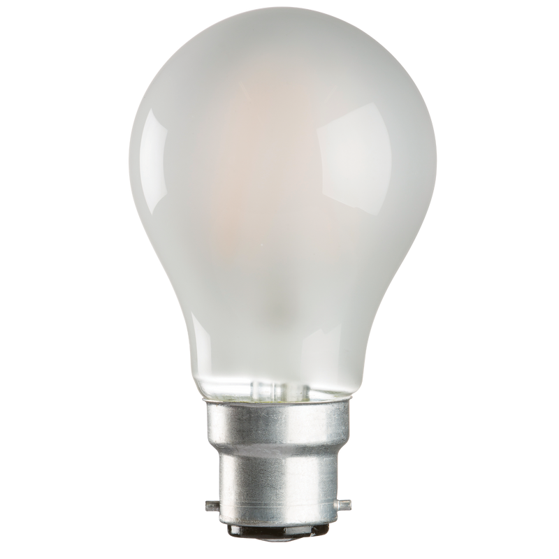 Casell Filament LED A60 GLS Pearl 240v 8w B22d 750lm 2700°k Dimmable - 0635635589202