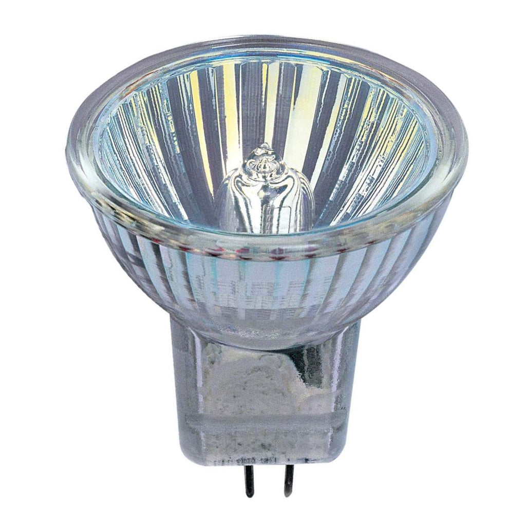Halogen Spot 35w 12v GU4 Casell Lighting 35mm MR11 10° Glass Fronted Dichroic Reflector Light Bulb