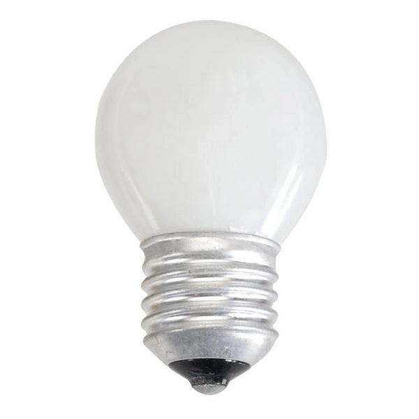 Golfball 60W Light Bulb ES / E27 - Pearl - 240v