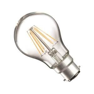 Casell Filament LED A60 GLS 240v 8w B22d 850lm 2700°k Dimmable - 0635635589189