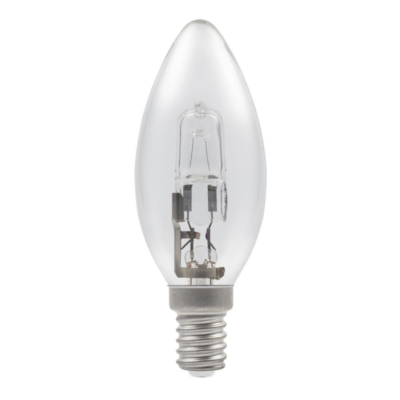 Casell C28SES-H-CA - Candle 28w E14/SES 240v Clear Energy Saving Halogen Light Bulb - 35mm