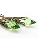 Drops of Joy Earrings- Spring Green