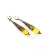 Drops of Joy Earrings- Sunshine