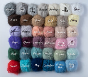 Belangor Angora Colors