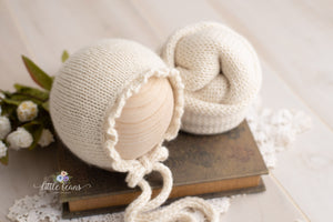 Ruffle Bonnet and/or Wrap