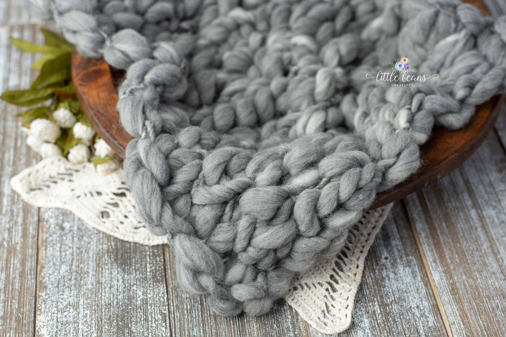 Handspun Grey Layer