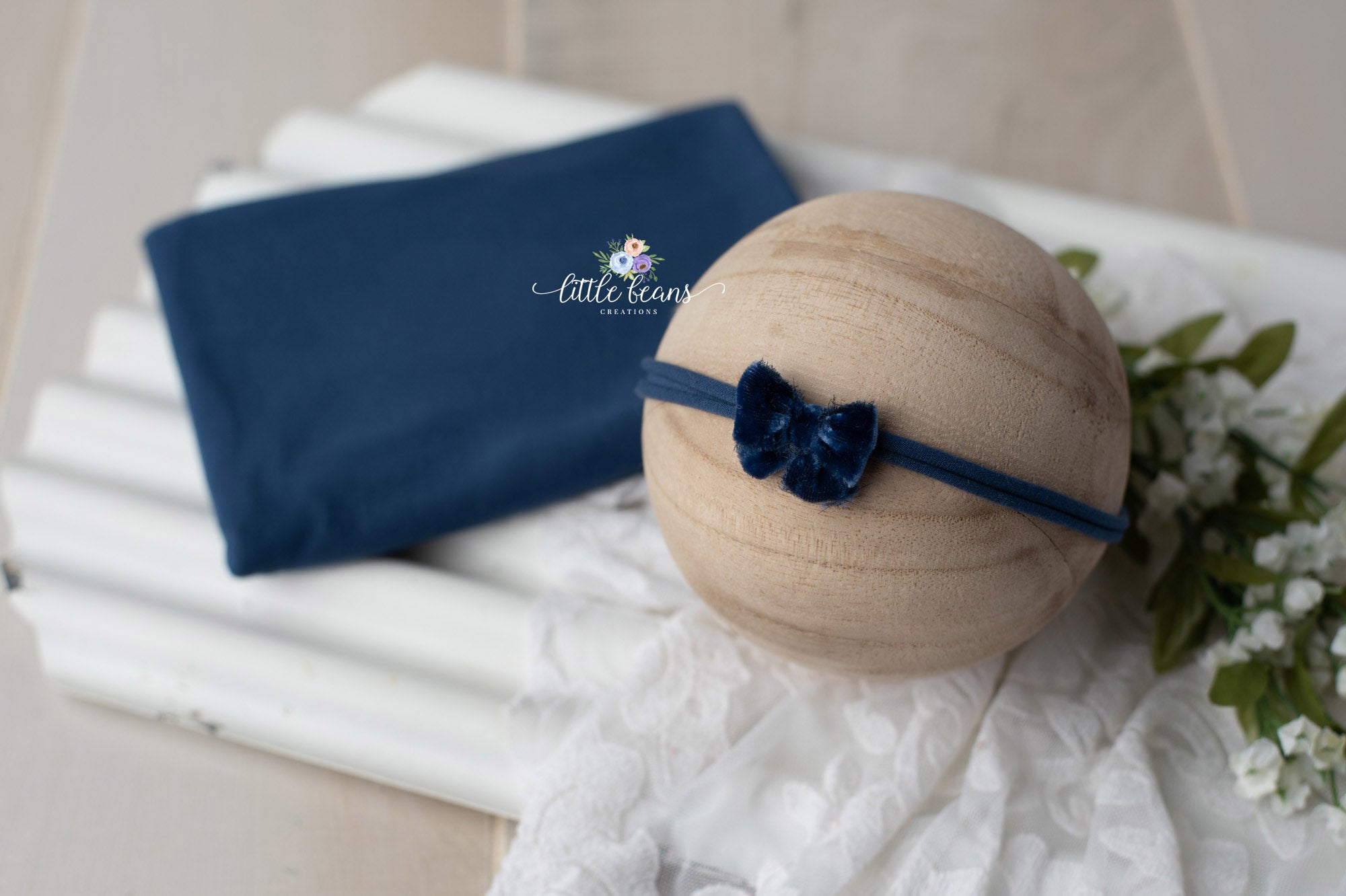 Newborn Stretch Wrap and Tieback