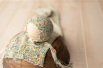 Sprinkles Collection - Rainbow Bonnet or Wrap