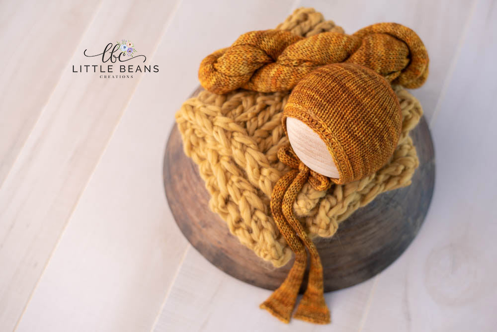 Fall Bonnet, Wrap, and Layer