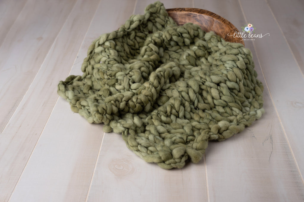 Handspun Green Layer