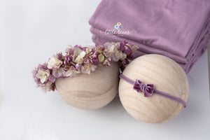Mauve Backdrop, Stretch Wrap or Tieback
