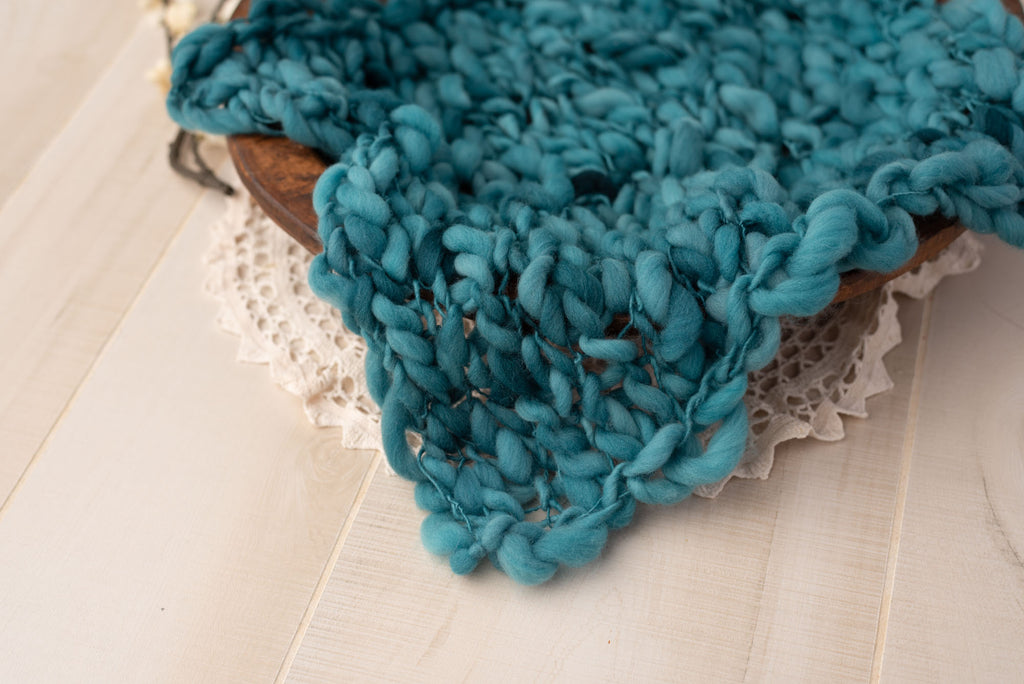Teal Thick and Thin Layer