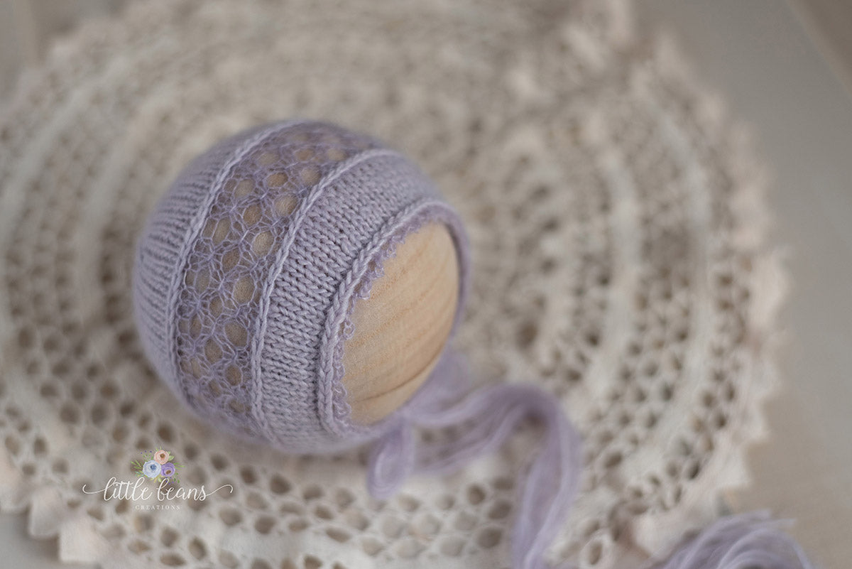 Evelyn Collection in Pale Lavender