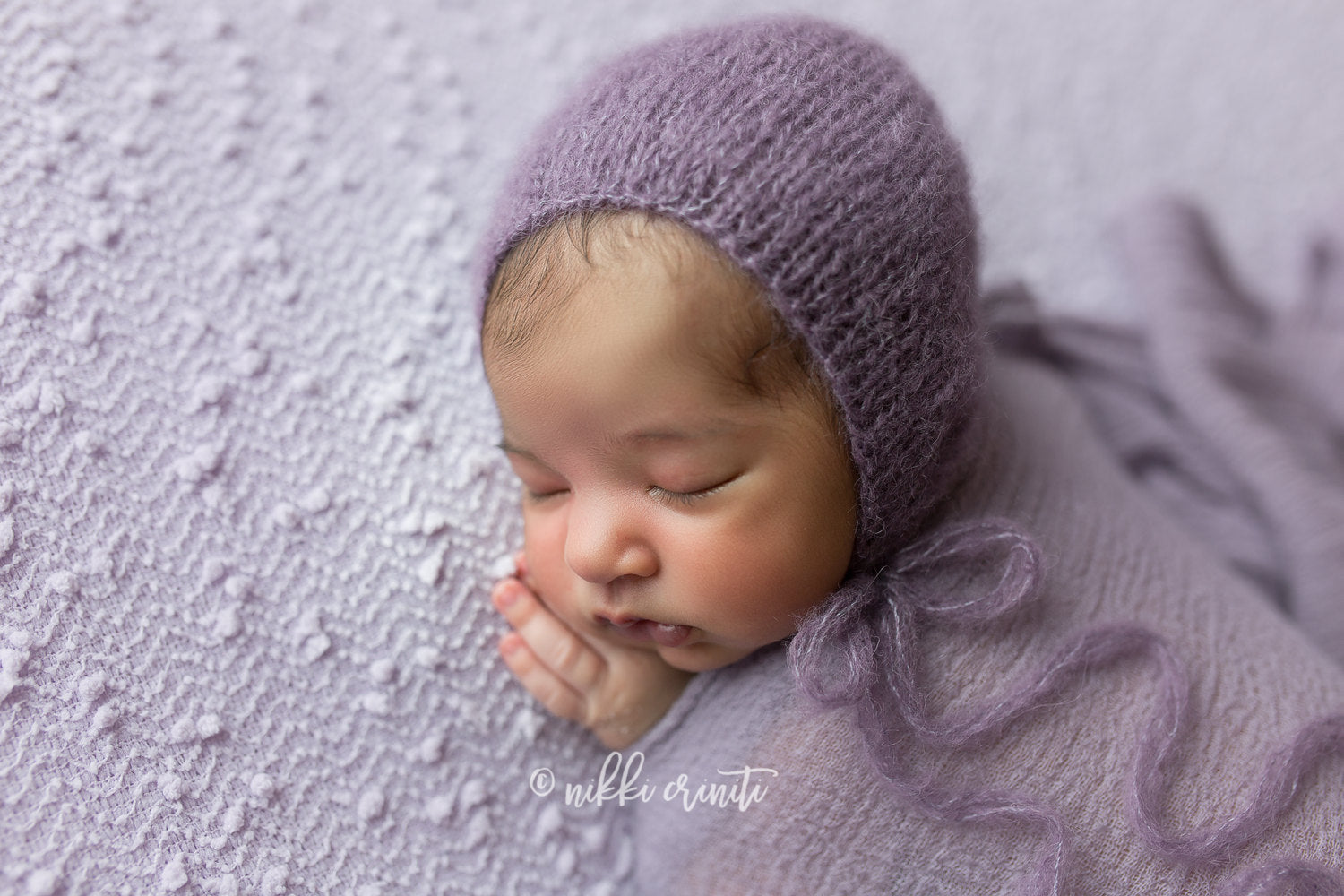 Sofia Bonnet in Muted Purple
