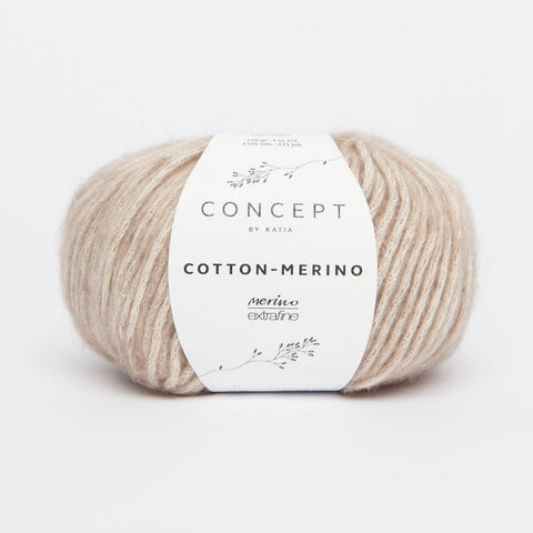 Katia Cotton Merino Yarn