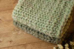 Knit Layering Blanket