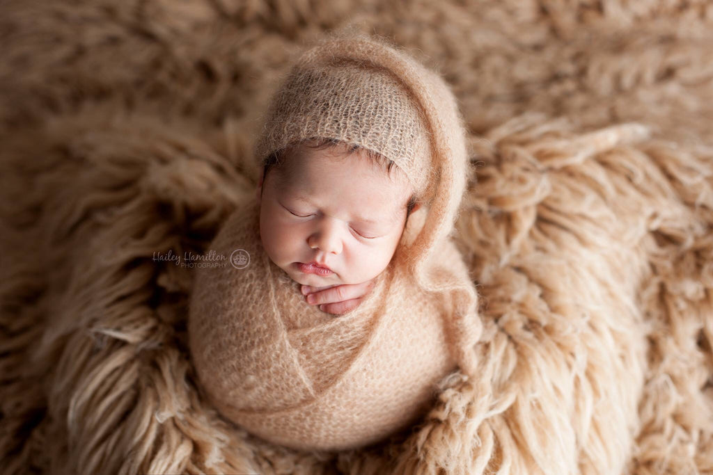Mohair Bonnet, Sleepy Hat,  or Wrap