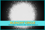 BLEACHY CIRCLE Digital Download - Make Your Own Bleach Look Designs - T-shirt Mock Up MockUp Image - Feminine Mock Up - Flat Lay - 3/21