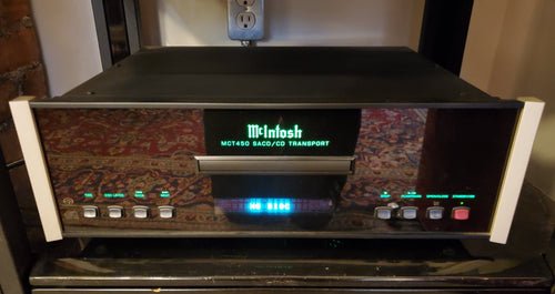 McIntosh MCT450 2-Channel SACD/CD Transport