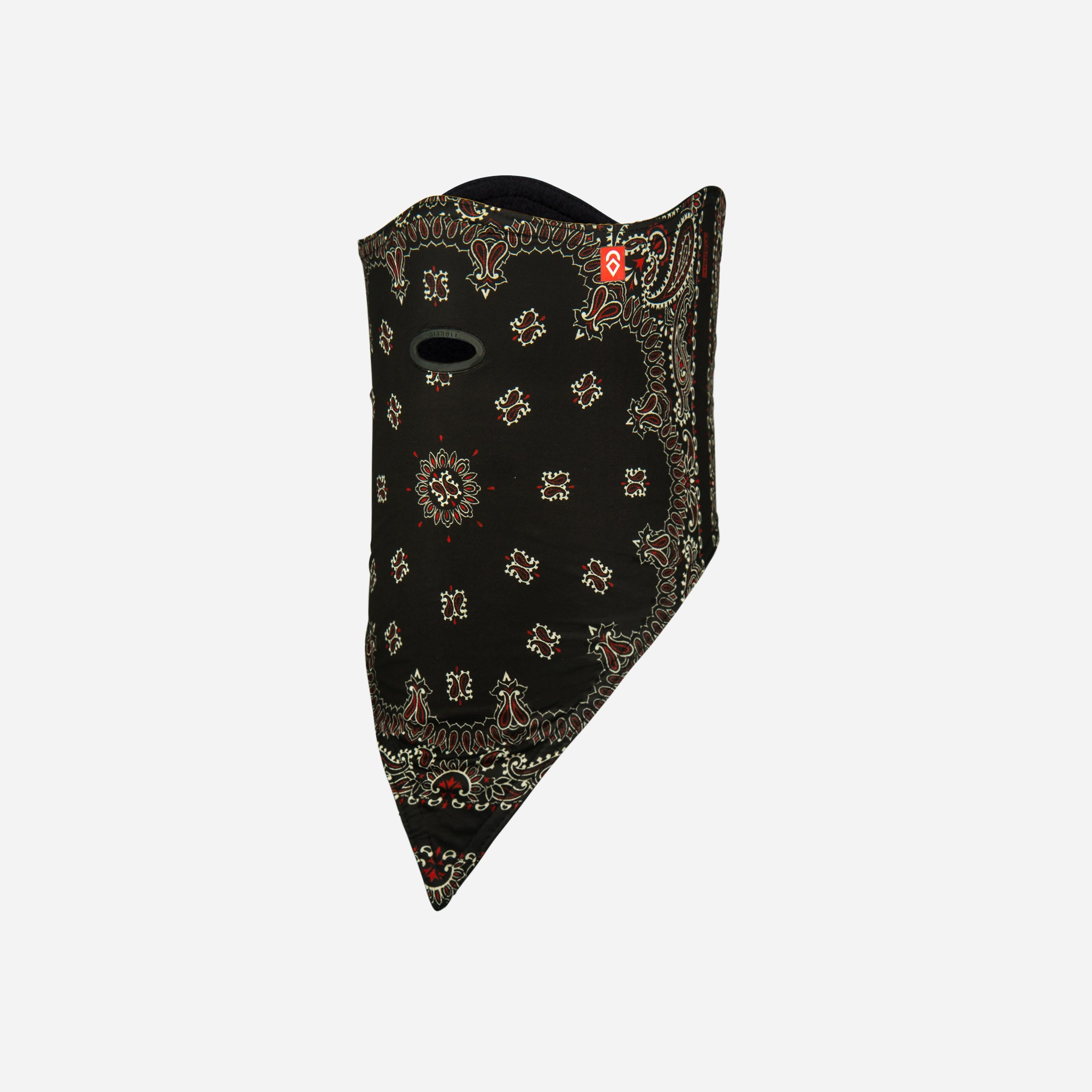 Facemask Standard 10K Softshell Black Paisley