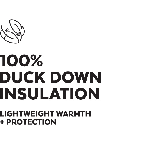 Duck Down Insulation