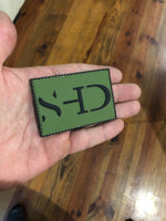 Safe Haven Dynamics - 2x3 PVC Green Logo Patch