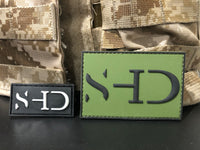 Safe Haven Dynamics - 1x2 PVC Black and White Logo Patch