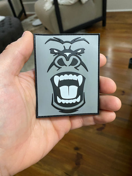 Safe Haven Dynamics - Gorilla Logo PVC Patch 3x4