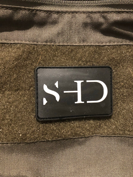 Safe Haven Dynamics - 2x3 PVC Velcro Logo Patch