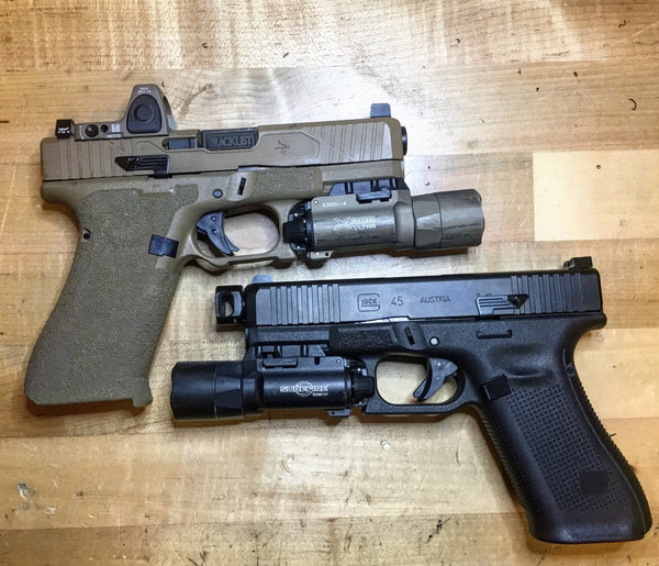 Kagwerks - Extended and Raised Glock Slide Release – Safe