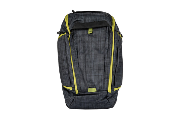 Vertx - Gamut Checkpoint Backpack - Heather Black/Mustard Grass