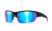 Wiley X - WX Saint (Polarized Blue Mirror Lens/Matte Black Frame)