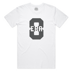 """ERA8 Center Piece"" Staple Tee (White/Black)"