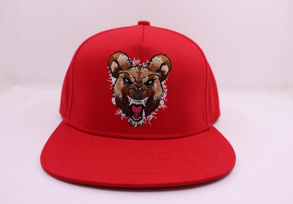 Wild Dog (White) Snapback Hat