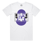 """Believe That"" Staple Tee (White)"