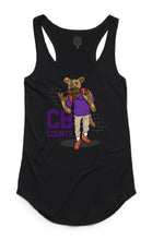 """CB Goon"" Black Women's Dash Tank"