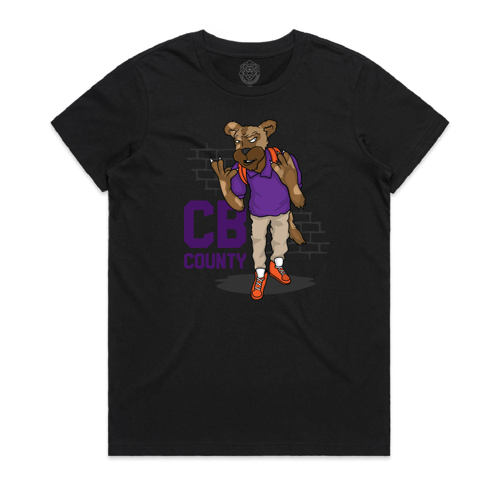 """CB GOON"" YOUTH TEE (BLACK)"