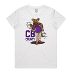 """CB GOON"" YOUTH TEE (WHITE)"
